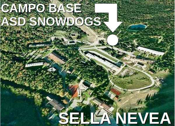 Snowdogs Campo invernale a Sella Nevea